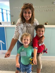 Mom and two sons screened through Trialnet
